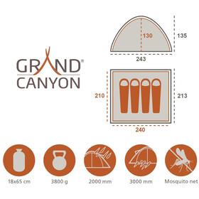 Grand Canyon Phoenix Tente L, green